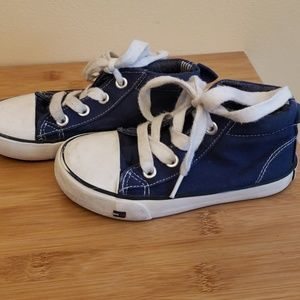 Tommy Hilfiger toddler boys navy sneakers
